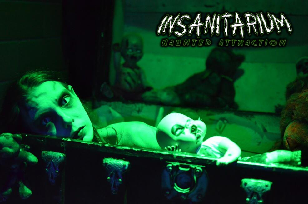 image result for insanitarium haunted attraction - Halloween Attractions In Alabama