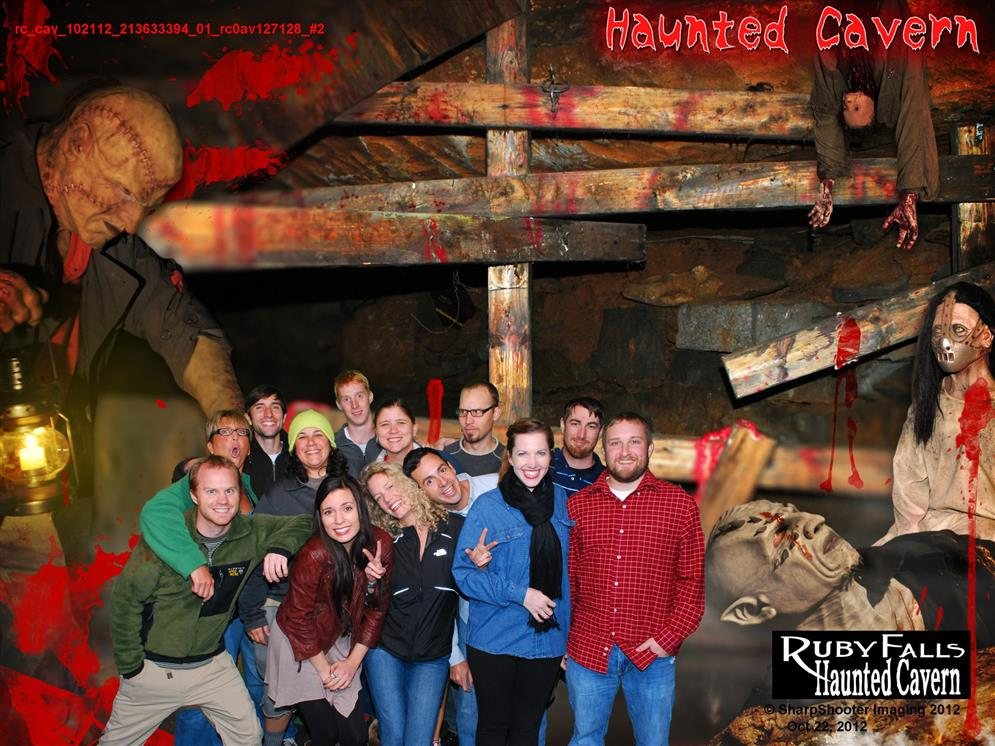 Ruby Falls Haunted Cavern Chattanooga Tn Photos Amp Videos